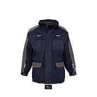Куртка рабочая SOL'S FUSION PRO, 8 карманов, светоотражающие вставки