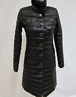 Пальто кожаное-супер цена!