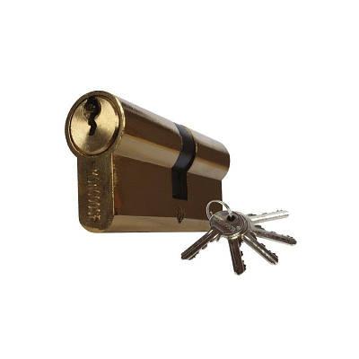Цилиндровый механизм секретности Мангуст 60(30*30)Z-IB 5 английских ключей