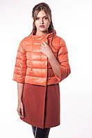 Эксклюзивное комбинированное пальто (рр 42-48), разные цвета