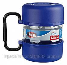 Набор дорожный Trixie контейнер для еды 2 л и 2 миски по 0,75 л