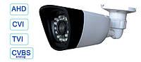 Камера видеонаблюдения 4 в 1 AHD/CVI/TVI/CVBS-аналог 960P 1.3Mp