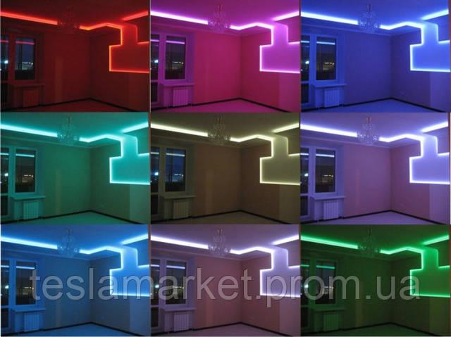 Использование светодиодной ленты в оформлении интерьера