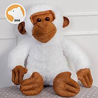 Мягкая игрушка Обезьяна, 70 см, белая