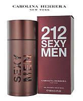 Carolina Herrera 212 Sexy Men бренд мужской 100мл Каролина Херрера 212 секси мэн