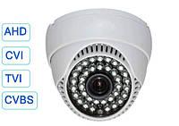 Камера 4 в 1 AHD/CVI/TVI/CVBS-аналог HD 720P 1Mp