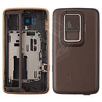 Корпус для Nokia N900 - оригинальный (бронзовый)