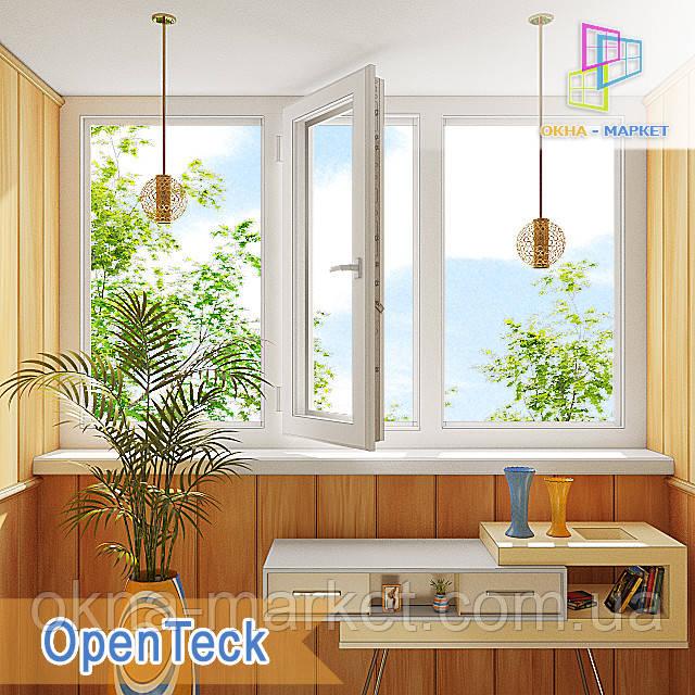 Лоджия в профильной системе Openteck компания