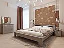 Ліжко півтораспальне в спальню, дитячу Сакура (Бук)140*200Неомеблі, фото 7