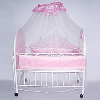 Кроватка детская металлическая Baby Tilly XG9231
