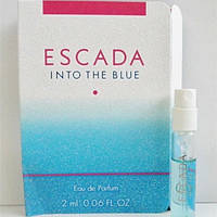 Escada Into The Blue edp 2ml lady vial