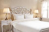 Однотонное постельное бельё Rose Vanilla, фото 1