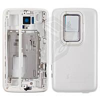 Корпус для Nokia N900, белый, оригинал