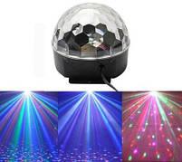 Светомузыка диско шар Magic Ball Music Super Light. Диско шар LASER XXB 01/M6 + BT, фото 2