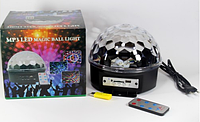 Светомузыка диско шар Magic Ball Music Super Light. Диско шар LASER XXB 01/M6 + BT