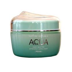 Увлажняющий крем-гель для комбинированной кожи Super Aqua Max Combination Watery Cream Nature Republic