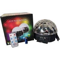 Светомузыка диско шар Magic Ball Music Super Light. Диско шар LASER XXB 01/M6 + BT, фото 5