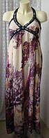 Платье женское летнее модное красивое сарафан макси бренд Intuition р.42-44 5717а