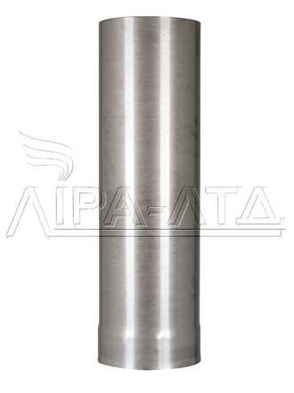 Труба 0,5 метра 0,8 мм AISI 304 нержавейка