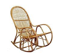 """Кресло качалка """"КК 4"""" из лозы, фото 1"""