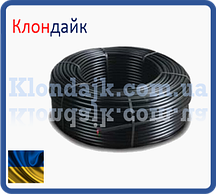 Слепая многолетняя трубка для капельного полива бухта 100 м диаметр 16 мм (многолетняя)