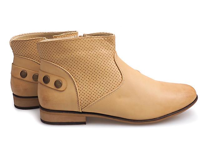 Женские ботинки DANITA BEIGE