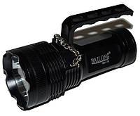 Фонарь светодиодный Bailong BL-801 (Cree XM-L T6, 1000 люмен, 5 режимов, 4x18650), комплект