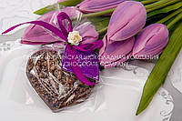 """Шоколадная сердце """"Love"""" в подарок, фото 1"""