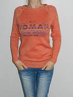 Весенняя кофточка реглан женский три цвета HZG Moda 217 рр. 44-46 Турция
