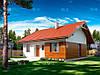 МS-019. Классический одноэтажный дом с комбинированной облицовкой