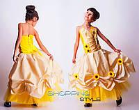Красивое выпускное платье для девочки