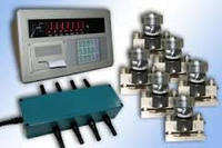 Комлект электроники дКомлект электроники для автомобильных весов на 10 даля автомобильных весов на 10 датчиков