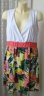 Платье женское летнее яркое большой размер мини бренд b.p.c. р.52-54 5718а