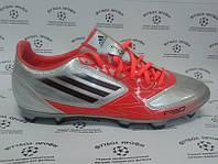 Бутсы Adidas F10 TRX FG SILBER