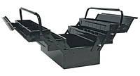 Ящик для инструментов металлический Topex 550 7шт./tp