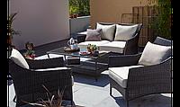 Набор садовой мебели George Home Jakarta Classic Conversation Sofa Set Linen