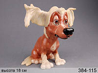Статуэтка Собака Челси 18 см полирезина