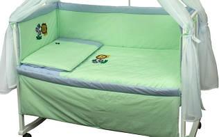 Набір в дитячу ліжечко Левеня