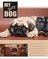 Тетрадь серия «Мой пес» 24 л.