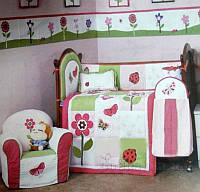 Комплект ARYA детский для кроватки 5 Пр. Cy 2021 Butterfly