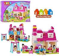 Детская развивающая игра конструктор Модные девочки, фото 1