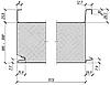 Сендвіч-панель покрівельна 200 мм (пінополістирол)