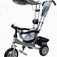 Велосипед детский трехколесный Mini Trike серебристый