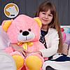 Плюшевый медвежонок Томми, 70 см, розовый, фото 2