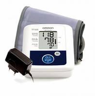 Тонометр автоматический OMRON M2 Classic (НЕM 7117H ARU) с универсальной  (для среднего и большого объема руки) манжетой 22-42 см и адаптером