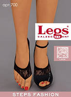 Женские подследники из кружева Legs 700 (черный, белый, бежевый)