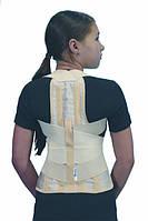 Ортез на грудной и поясничный отделы позвоночника реклинирующий (Корсет-коректор) ОХ.06