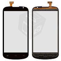 Сенсорный экран (Touchscreen) для Gigabyte GSmart Aku A1, оригинал (черный)