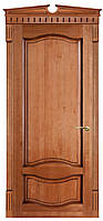 """Межкомнатные двери из массива ольхи """"№33-Ол патина"""" ПГ,  60, 70, 80, 90"""