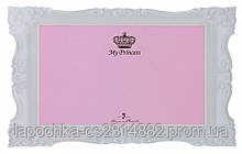 Коврик под миску Trixie My Princess 44 х 28 см, розовый